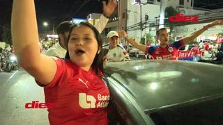 Miles de olimpistas salen a las calles de Honduras a celebrar el título 31 del club