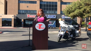 Las Vegas Valley campaign launched to protect pedestrians – VIDEO