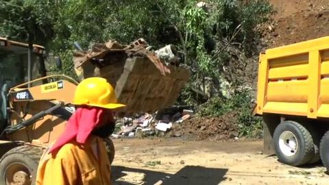 Siete muertos y 11 heridos por deslizamiento de tierra en Colombia