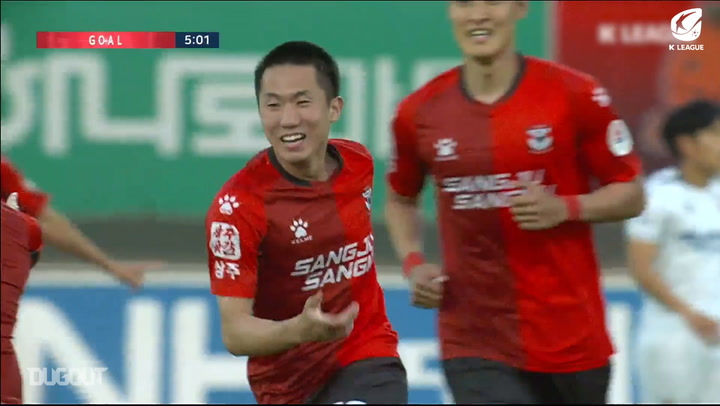 Kang Sang-woo picks up K League MVP award for Round Three winner