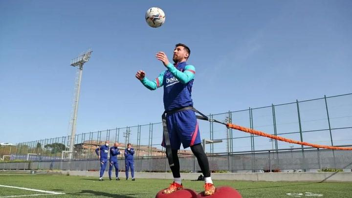 Messi vuelve con las pilas cargadas