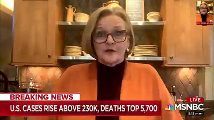 McCaskill: Trump Is Allowing Price Gouging, 'Profiteering in This Health Care Crisis'