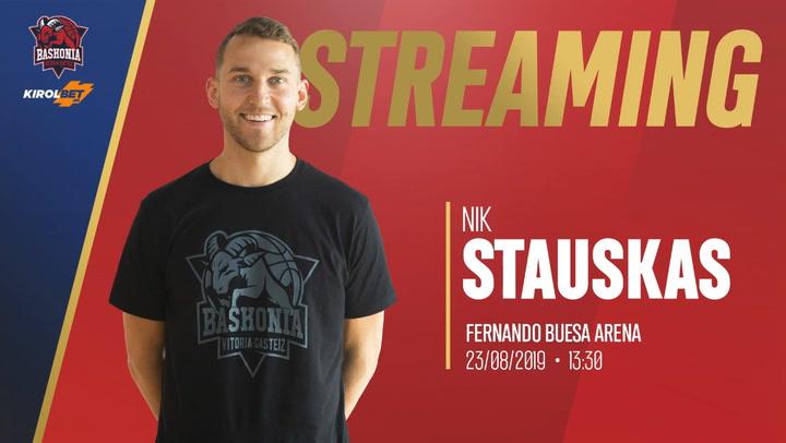 """Stauskas: """"Vengo con el rol de anotador, pero estoy al servicio del equipo"""""""