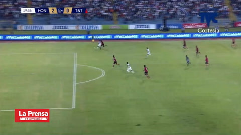 El golazo de Bryan Moya contra Trinidad y Tobago