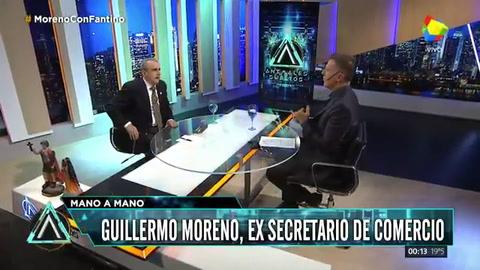 Moreno: Hay mil familias que son las responsables del hambre de un pueblo