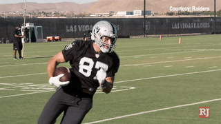 Raiders TE Foster Moreau feels great after knee surgery – Video