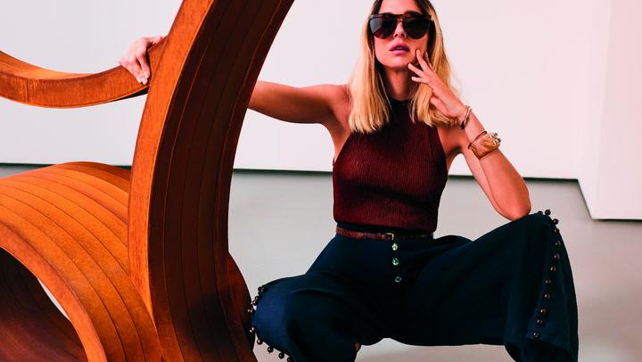 En FASHION mayo: Candela Pelizza, la modelo argentina que triunfó en el Street Style italiano