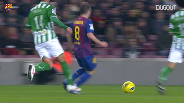 Team Goals: Lionel Messi Vs Real Betis