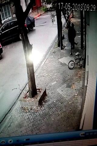 Sufrió un violento robo en la zona norte y quedó todo filmado