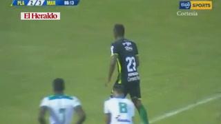 Johnson le está dando el triunfo al Marathón derrota 2-3 ante Platense