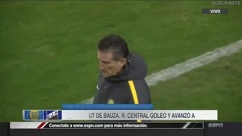 Central se regaló una goleada por la Copa Argentina en el debut del Patón Bauza: 6-0