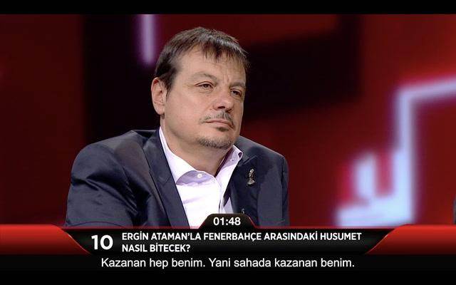 Jülide Ateş ile 40 - Ergin Ataman'la Fenerbahçe arasındaki husumet nasıl bitecek?
