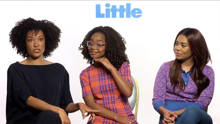 'Little' | Unscripted | Regina Hall, Marsai Martin, Tina Gordon