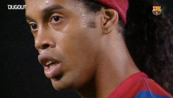 Ronaldinho'nun Zaragoza'ya Attığı Harika Serbest Vuruş Golü