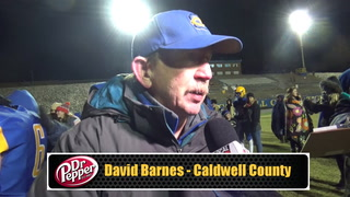 Barnes on Playoff Loss to LaRue County
