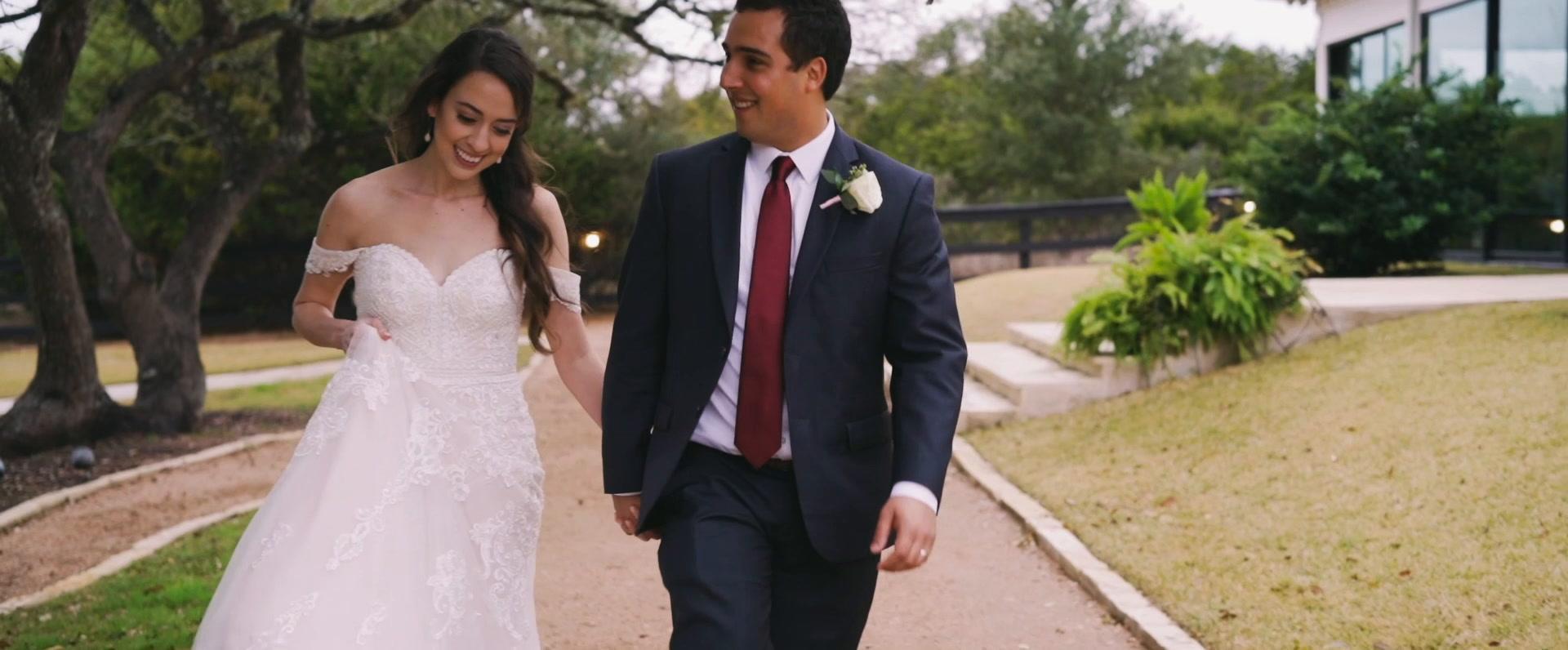 Ellen + Gabriel | Austin, Texas | antebellum oaks
