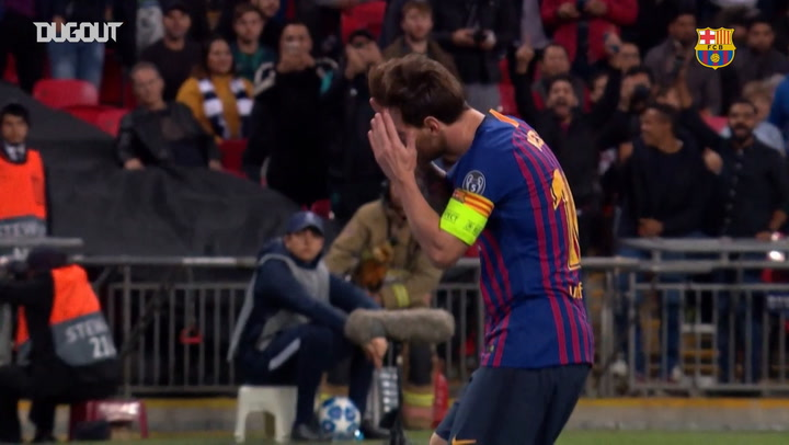 Messi's best goal celebrations of the season