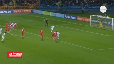 Gibraltar gana su primer partido oficial de la historia