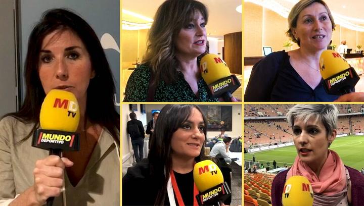 Así ha sido la experiencia de las mujeres periodisas siguiendo la Supercopa en Arabia Saudí