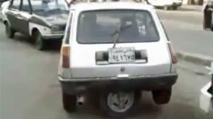Sliter med lukeparkering? Prøv denne bilen