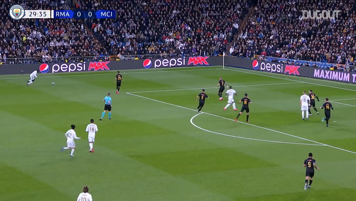 Manchester City defeat Real Madrid at the Bernabéu
