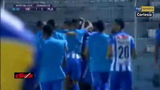 Victoria se pone a ganar ante Platense con un gol de Andrés Rentería