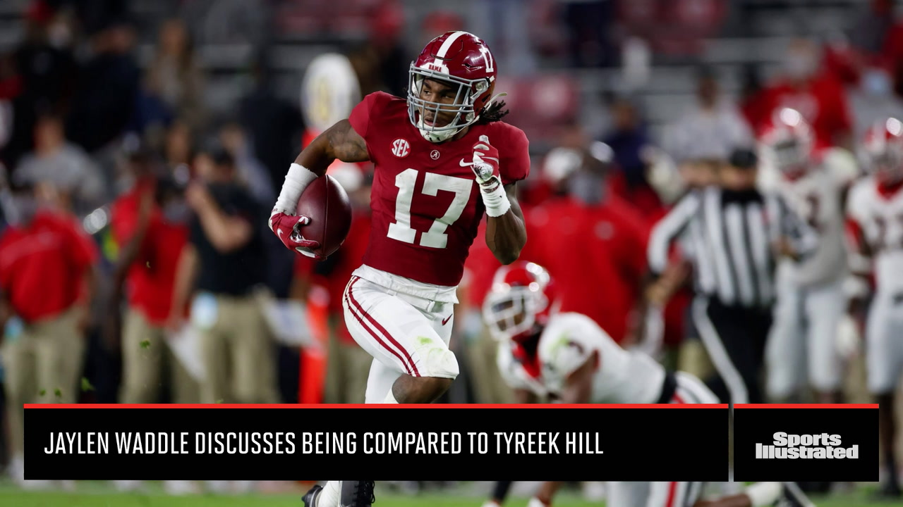 Jaylen Waddle on being compared to Tyreek Hill