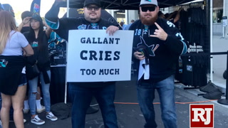 Sharks & Golden Knights fans fired up for Game 7