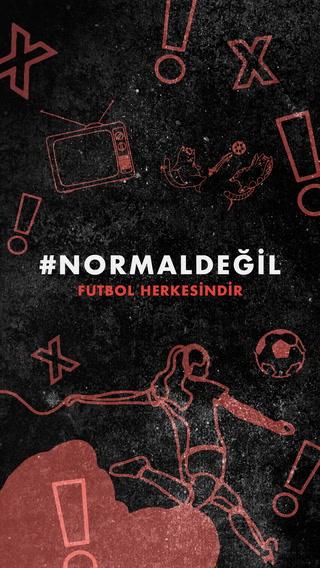 Futbolda cinsiyetçilik #NormalDeğil