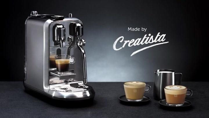 Preview image of Nespresso Creatista Plus Automatic Espresso Machin video