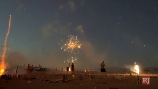 Explosions in the Moapa Sky