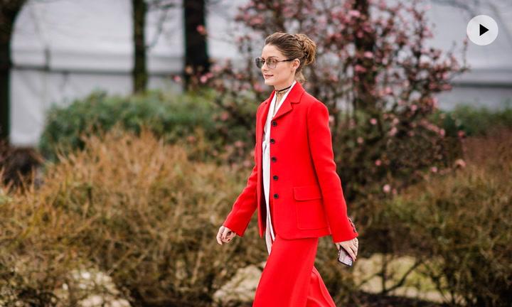 Looks bicolor, la tendencia que las \'influencers\' aprendieron de Olivia Palermo