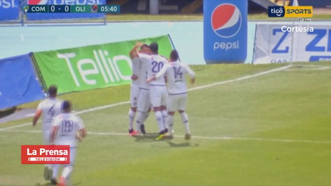 Video: Terrible error de Menjívar y Comunicaciones anota el 1-0 ante Olimpia