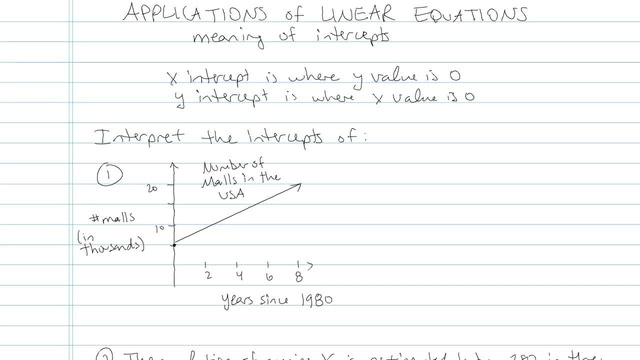 Applications of Linear Equations - Problem 5