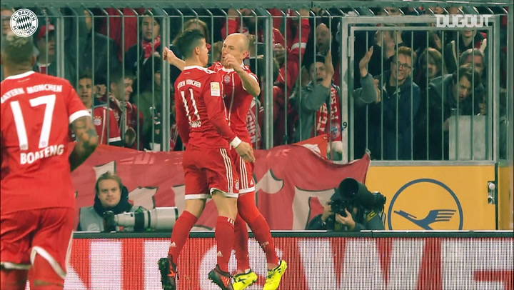 FC Bayern net two past RB Leipzig at the Allianz