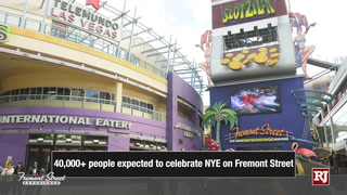 Celebrate New Year's Eve on Fremont Street