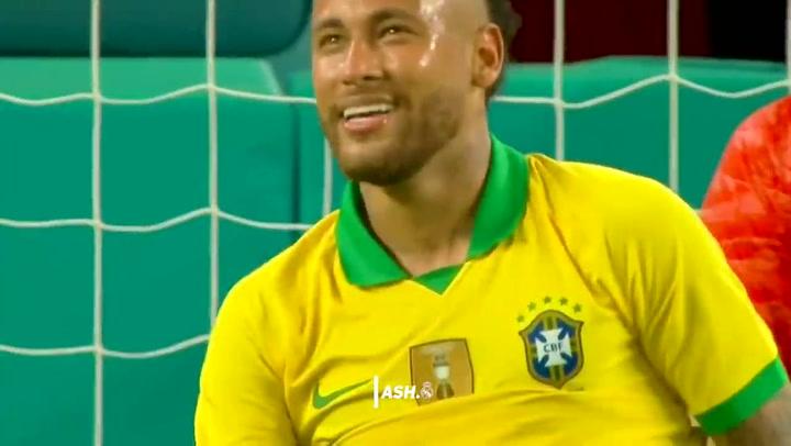 Neymar decisivo ante Colombia