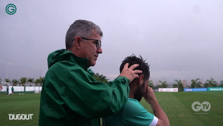 First training session of Goiás with new manager