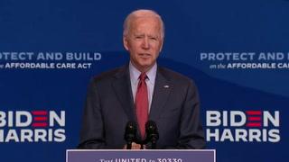 Biden advierte que controlar covid-19 requiere inmenso esfuerzo, Trump sigue ritmo frenético