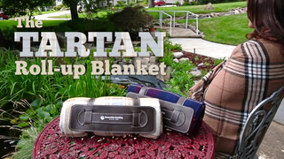 Tartan Roll-up Blanket