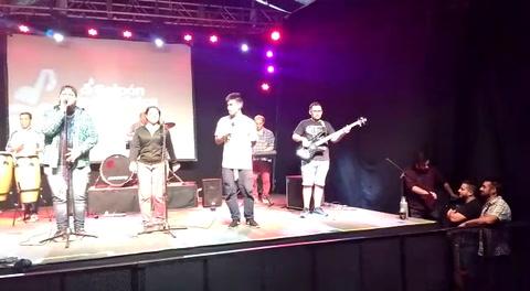 Una escuela que invita a tocar y cantar cumbia