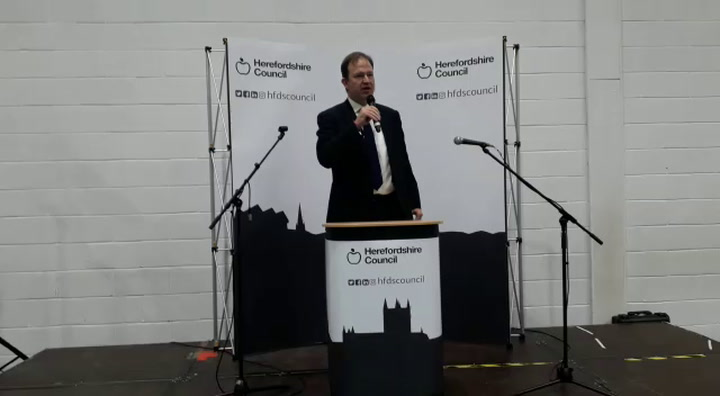 Conservative MP Jesse Norman holds his seat in Hereford and south  Herefordshire