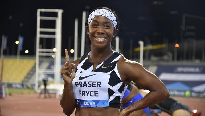"""Fraser-Pryce (10""""63), la segunda mujer más rápida de la historia"""