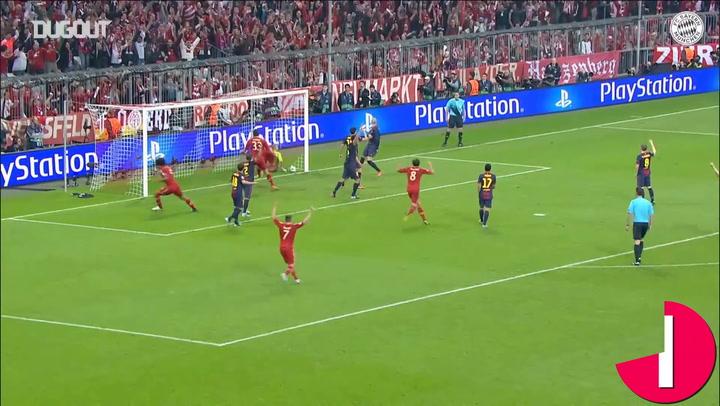FC Bayern's legendary 7-0 triumph over FC Barcelona