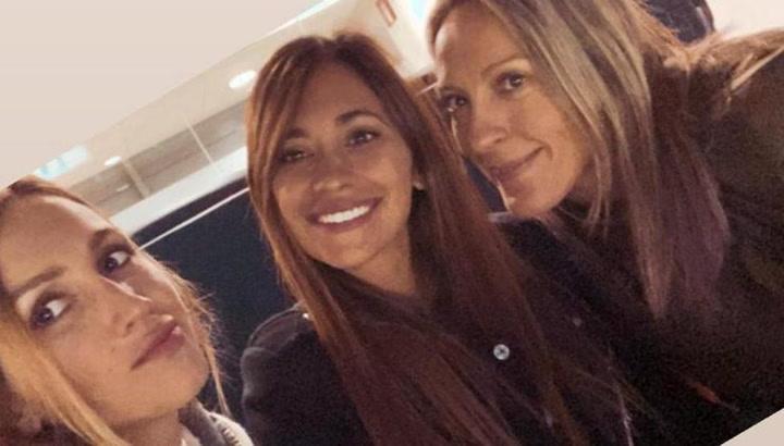 Así fue el espectáculo de Disney on Ice que presenciaron Antonela Roccuzzo y Sofía Balbi con sus hijos