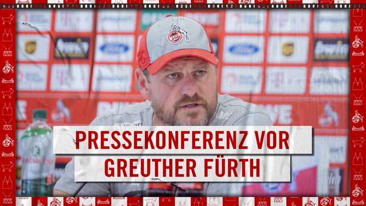 Pressekonferenz vor Greuther Fürth