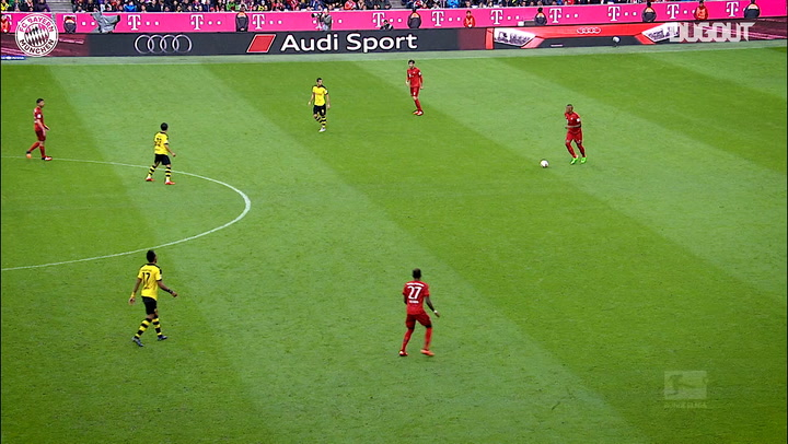 FC Bayern score five past Borussia Dortmund
