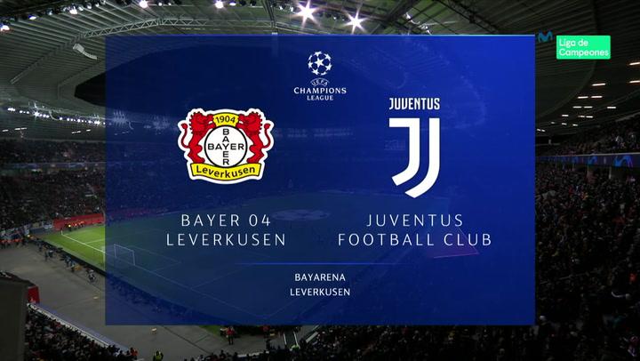 Champions League: Resumen y Goles del Bayer Leverkusen - Juventus