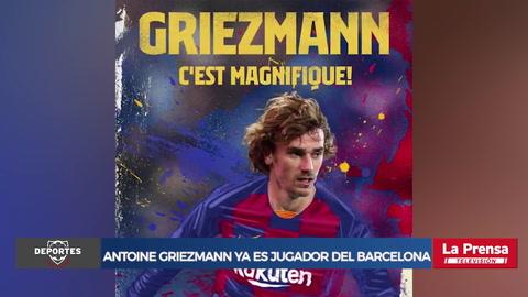 Antoine Griezmann ya es jugador del Barcelona