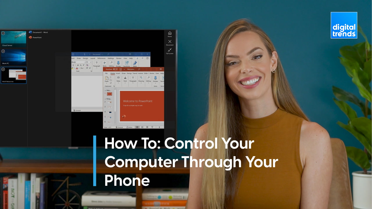 How to control your computer using your phone